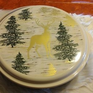 Christmas Cookies Container NWOT